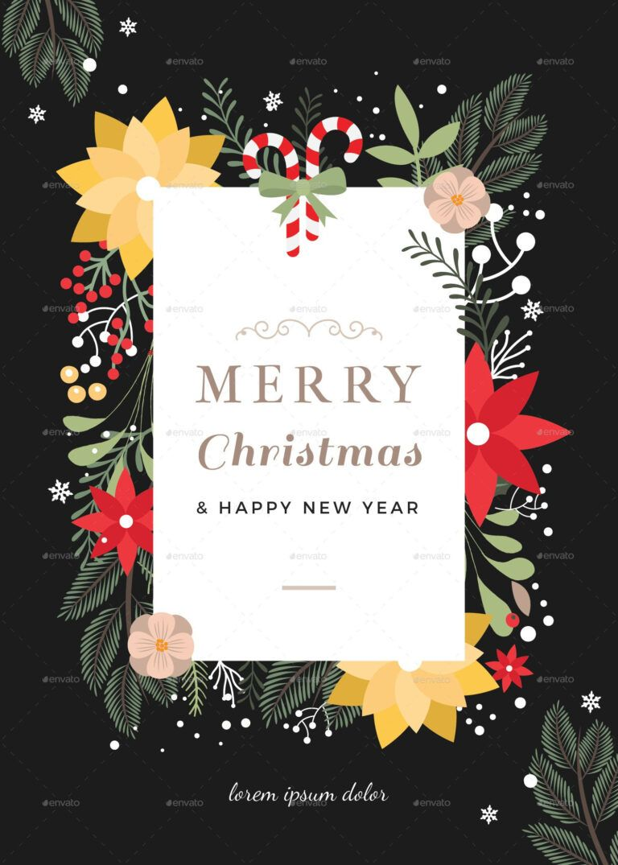 45 Christmas Premium Free Psd Holiday Card Templates For Within Christm Holiday Card Template Photoshop Christmas Card Template Christmas Card Templates Free