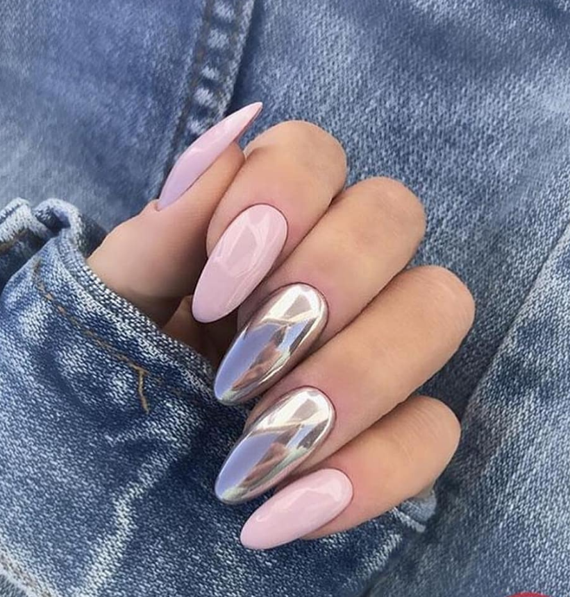 64 Chic Natural Almond Acrylic Nails Shape Design You Won T Resist This Spring Summer Page 56 Of 64 Latest Fashion Trends For Woman Almond Acrylic Nails Almond Nails Designs Short Almond Nails