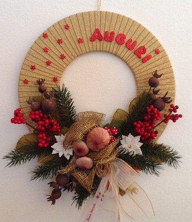 Photo of outside door wreath