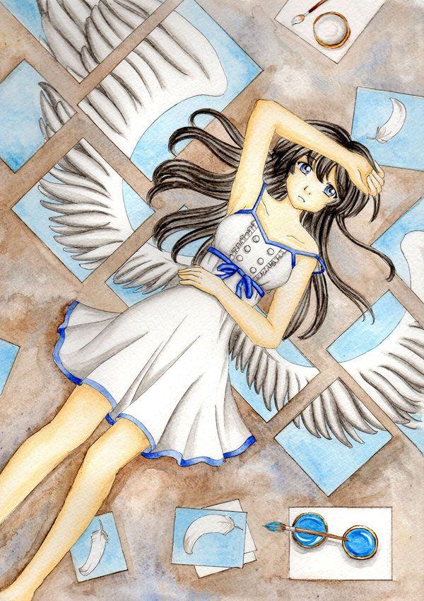Wish for freedom by Dawnie-chan.deviantart.com on @deviantART