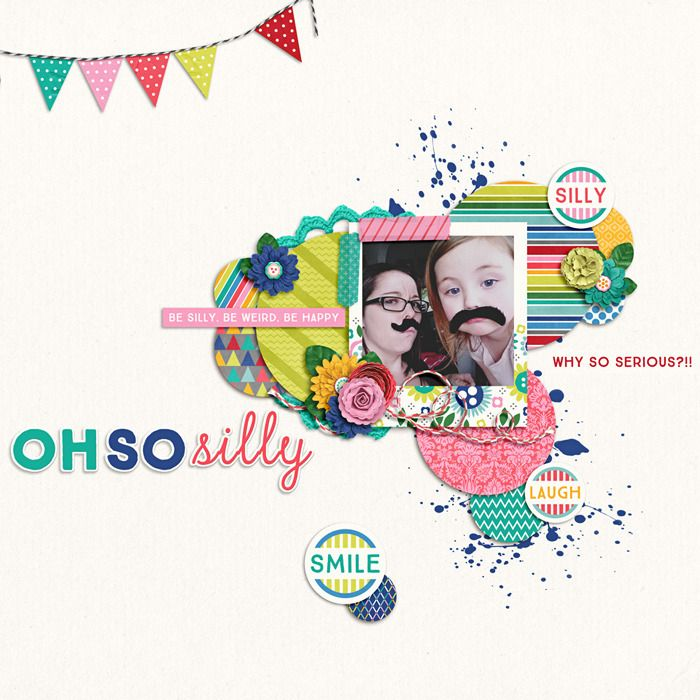Layout using {Happiness Is:Being Silly} Digital Scrapbook Kit by Wild Dandelion Designs by Meghan Mullens	 available at Sweet Shoppe Designs http://www.sweetshoppedesigns.com//sweetshoppe/product.php?productid=30525&cat=744&page=2 #meghanmullens #wilddandeliondesigns #sweetshoppedesigns