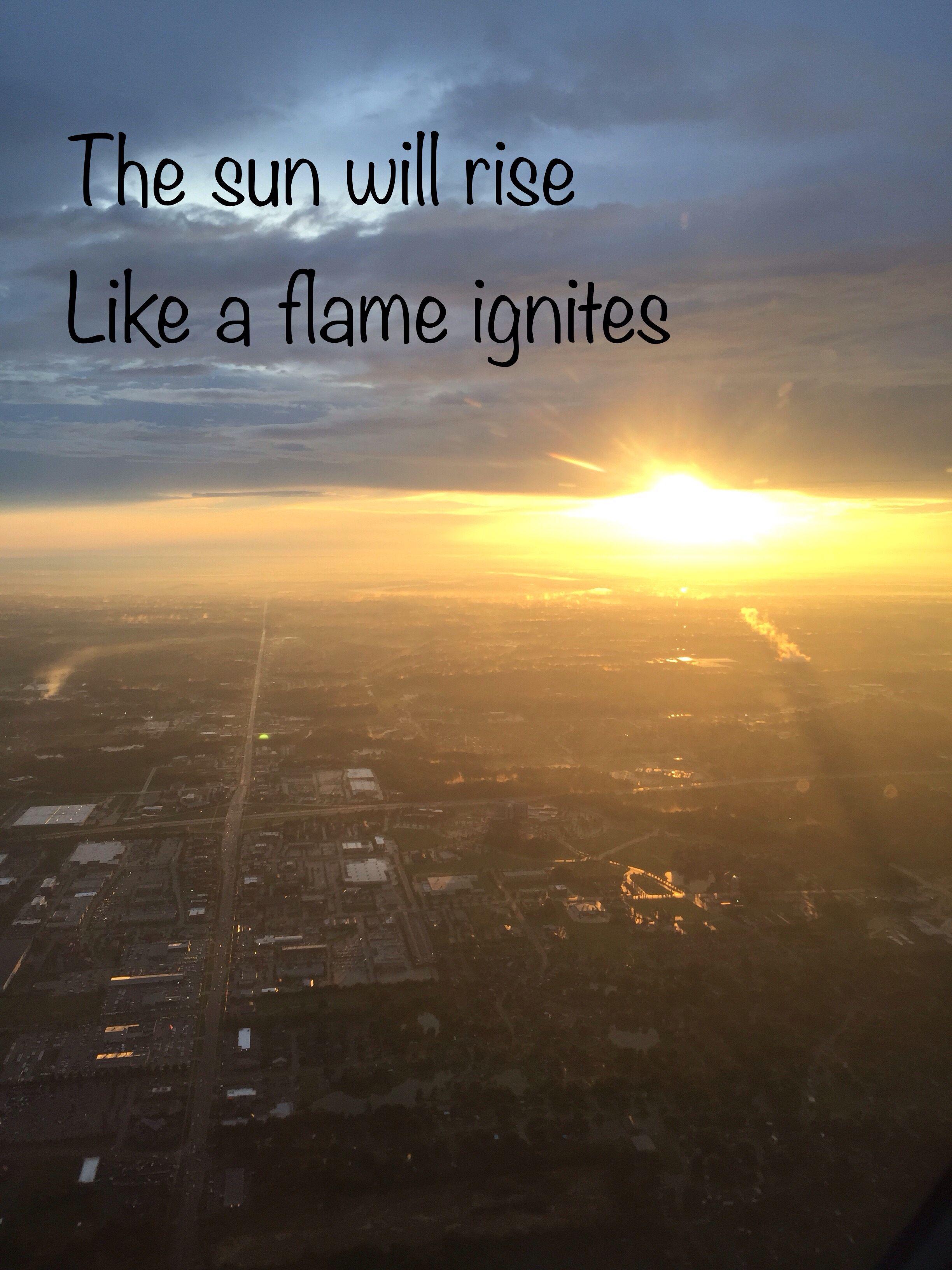 5sos Tomorrow Never Dies Flames Sunrise
