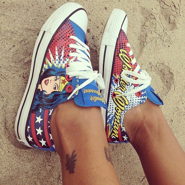 Converse All Star Lo Wonder Woman Athletic Shoe, Wonder Woman   Journeys Shoes