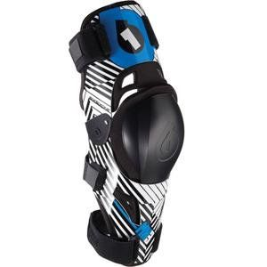 Sixsixone Mx3 Knee Brace Small Blue Replaceable Floating Abs Kneecap Padded Velcro Straps Super Lightweight And Comfortable Velcro Straps Golf Bags Velcro