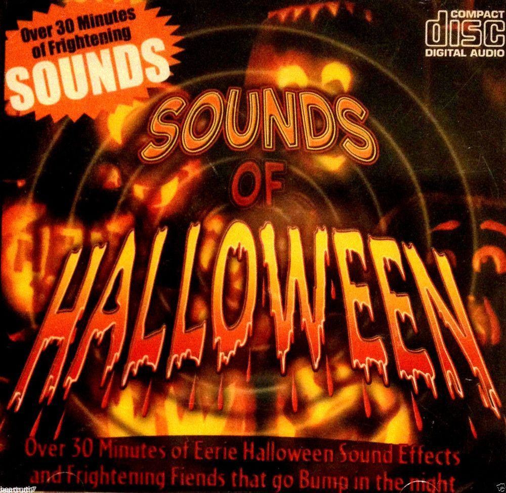 sounds of halloween over 30 mins of frightening eerie sounds cd new sealed halloween