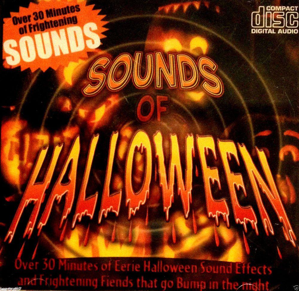 Sounds Of Halloween Over 30 Mins Of Frightening Eerie Sounds CD ...