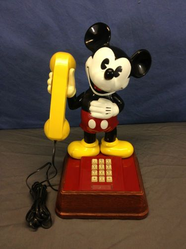 Details about VTG 70s/80s ATC MICKEY MOUSE PIE EYED PUSH BUTTON