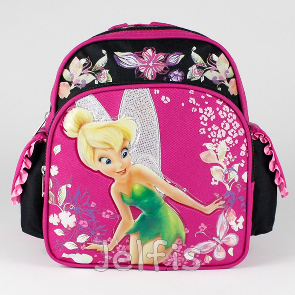 Disney Fairies Tinkerbell Backpack Tinker Bell Periwinkle Girls Book Bag Toy New