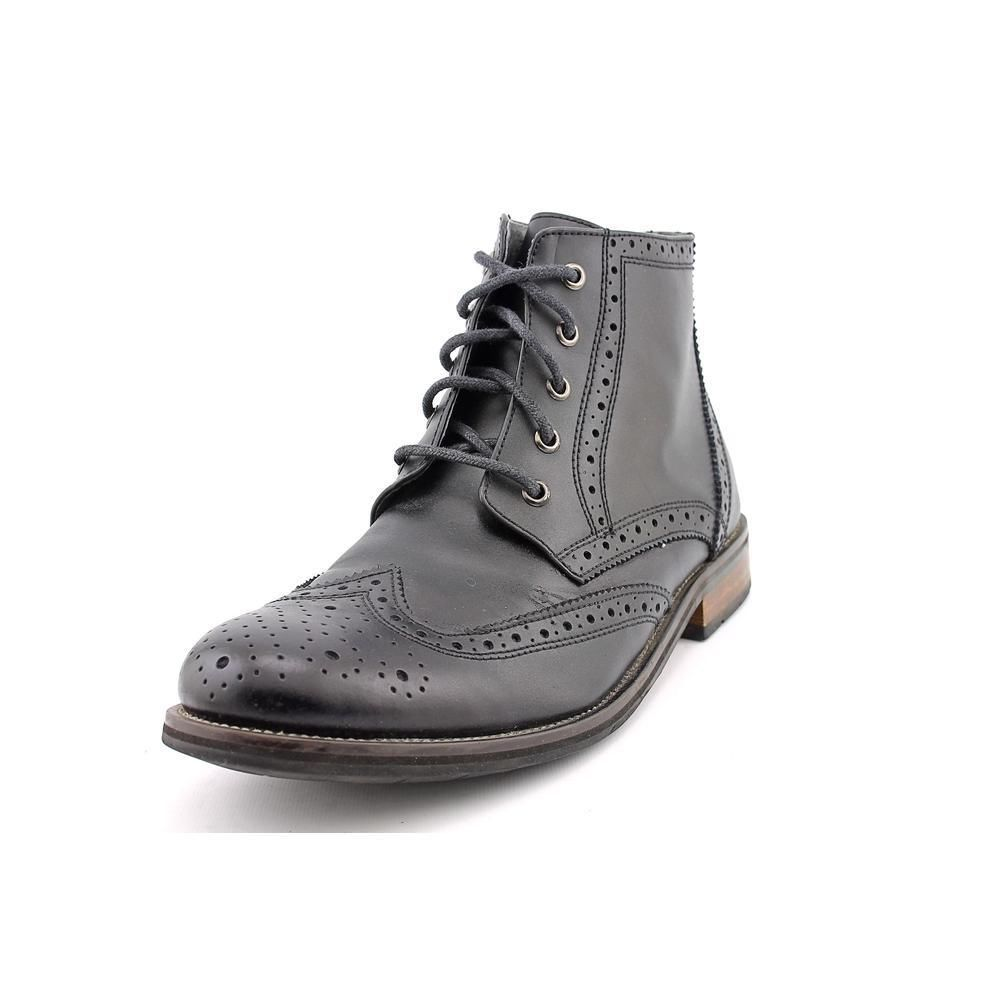 4092395fc70 Steve Madden Evander 2 Mens Size 10.5 Black Wingtip Leather Chukka ...