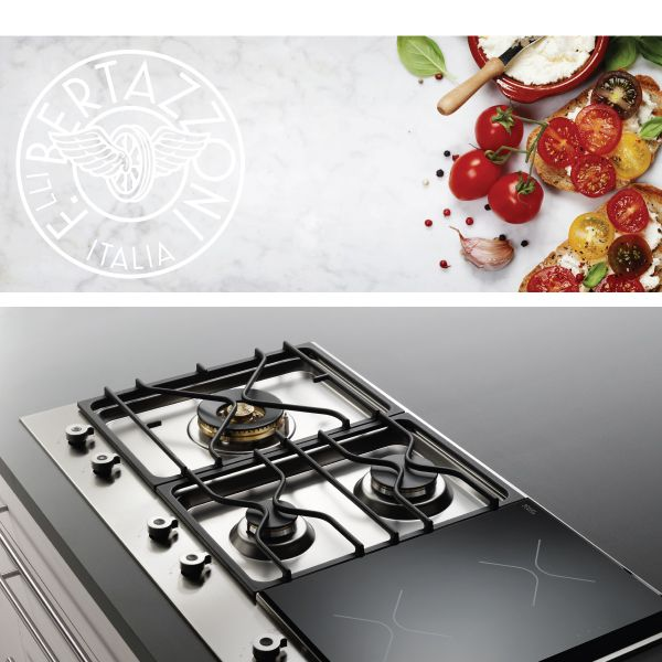 Italians are renowned for their exuberance and artistic elegance. Now these special qualities are brought to your kitchen with a choice of sensational Bertazzoni colours, inspired by the wonderful produce and culinary traditions of Emilia Romagna, heartland of Italian food.