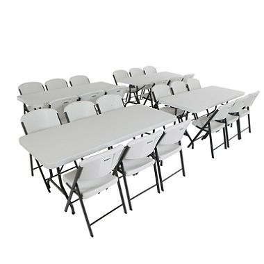 Brilliant Lifetime Combo 4 6 Banquet Table And 24 Commercial Interior Design Ideas Apansoteloinfo