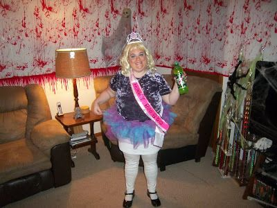 Honey Boo Boo Costume (it is scary how much I look like her!! LOL)