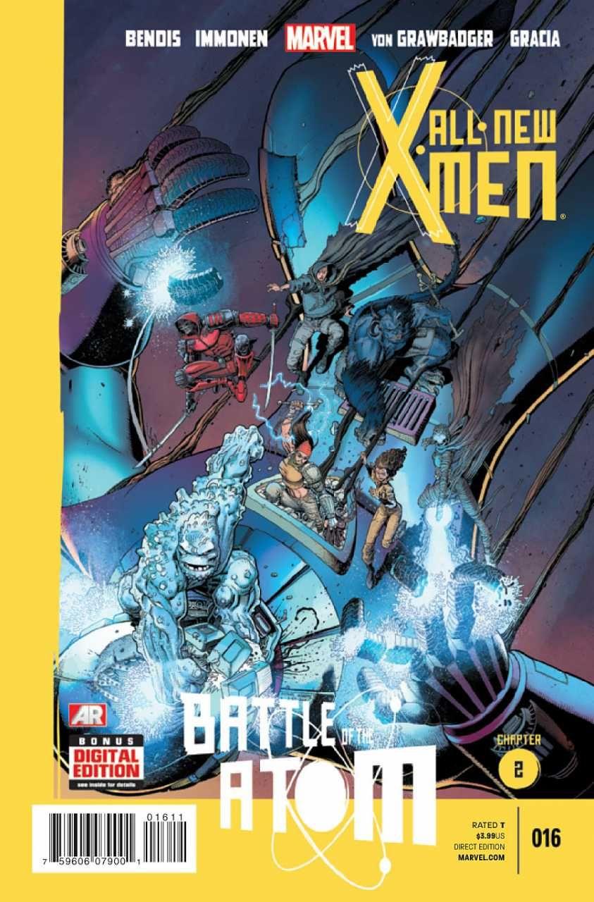 All New X Men 16 Battle Of The Atom Chapter 2 Issue Marvel Comics Marvel L World