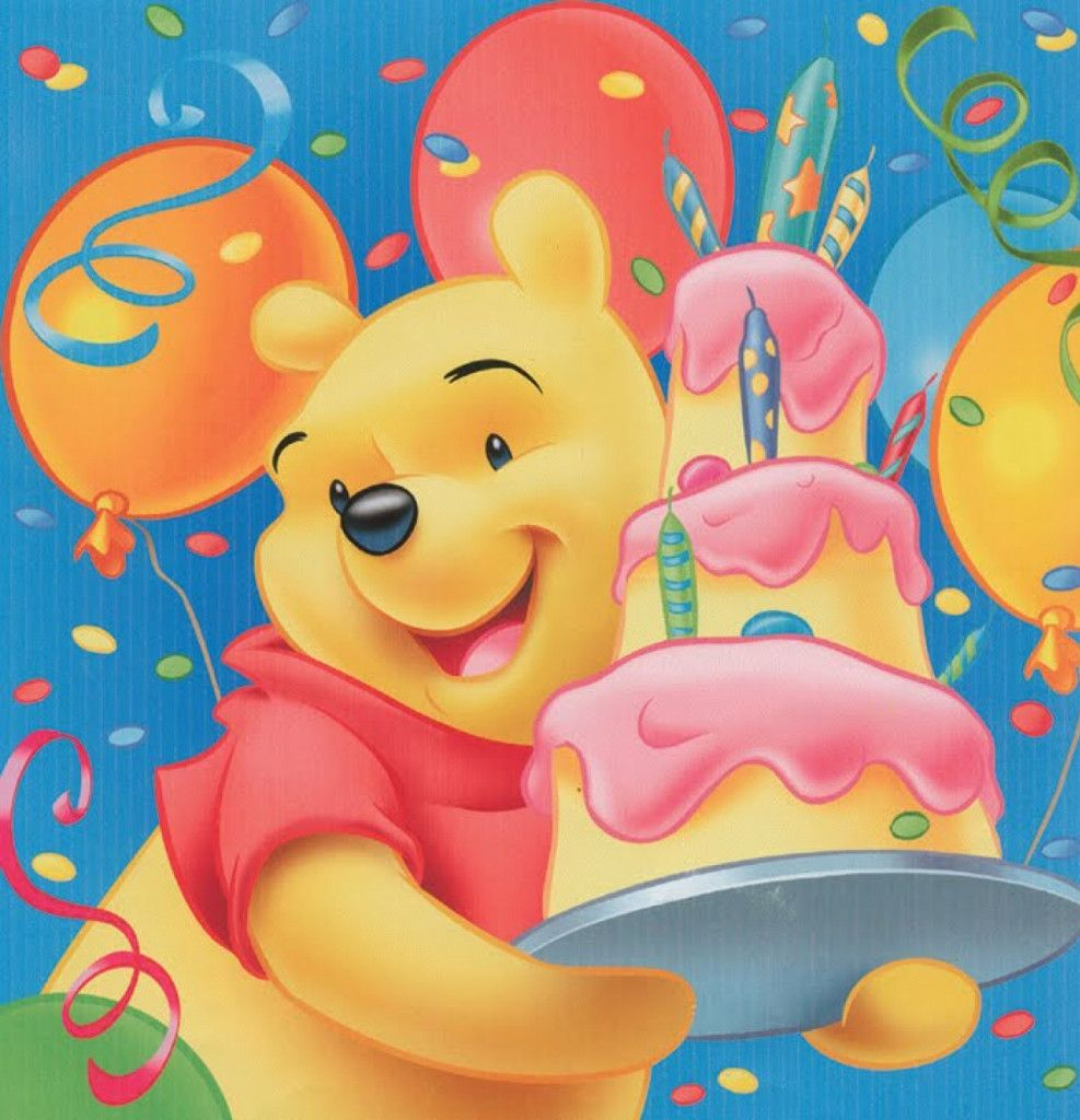 Winnie The Pooh Birthday Greeting Cards Winnie The Pooh Pictures Winnie The Pooh Winnie The Pooh Birthday