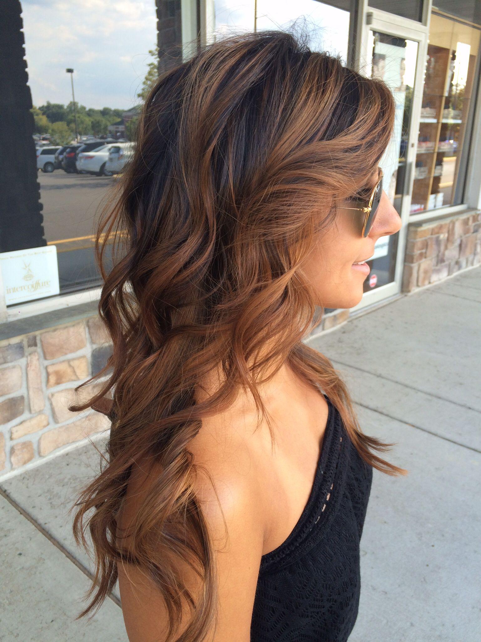 Ballayage Blond destiné pinterest: taylor_kagel | | hair | | pinterest | brown balayage