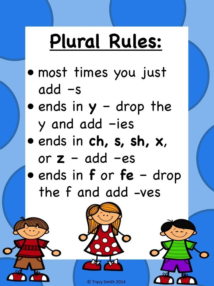 Singular And Plural Nouns Easy To Use Activities Gr K 3