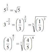 Resultado de imagen para potencia de exponente negativo en