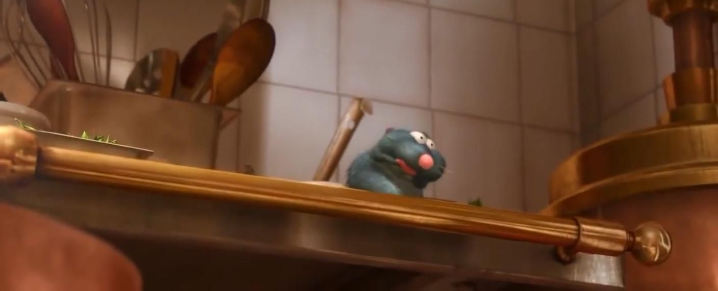 In Ratatouille 2007 Remi Gags At The Smell Of Linguinis Soup Rats Are Physically Unable To Gag Or Vomit Whi In 2020 Ratatouille Disney Ratatouille Ratatouille Movie