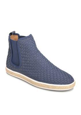 Aerosoles Women's Fun Fair High Top Sneaker - Blue Fabric - 10.5M