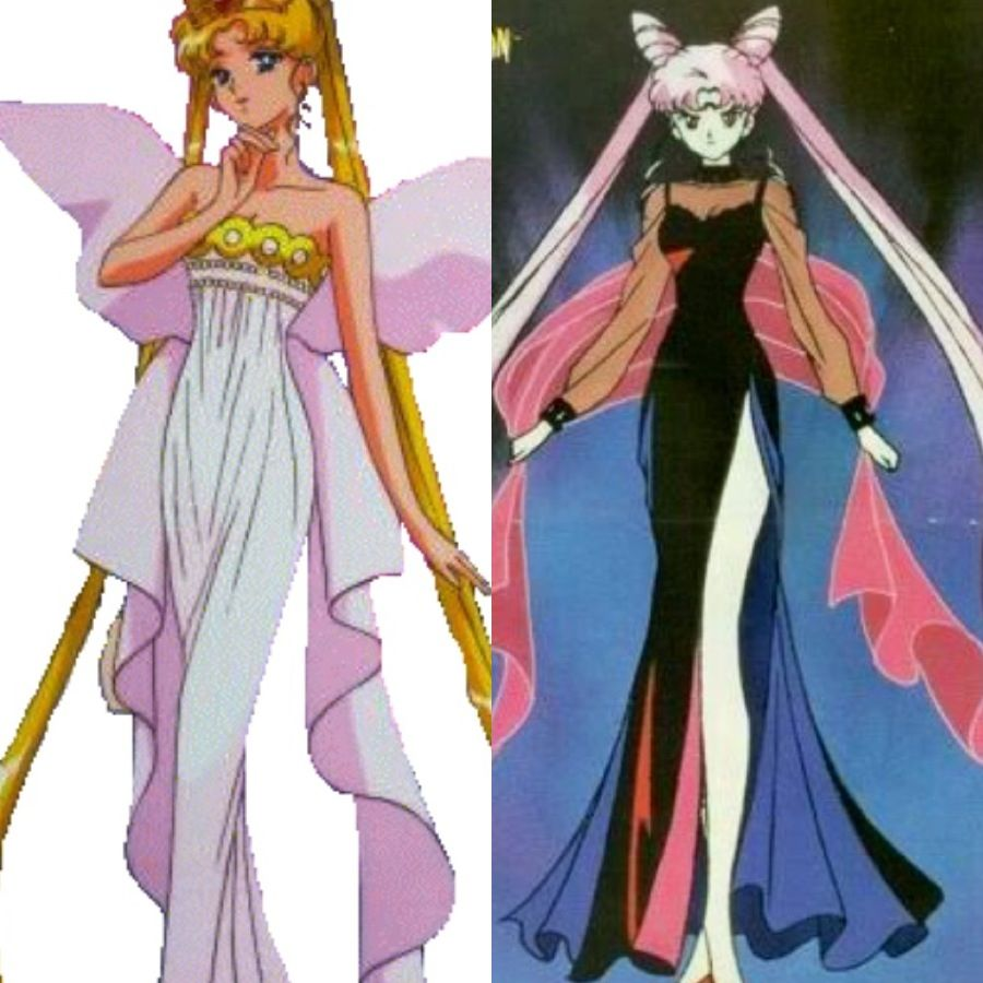 Sailor Moon's Serena As Neo Queen Serenity And Her