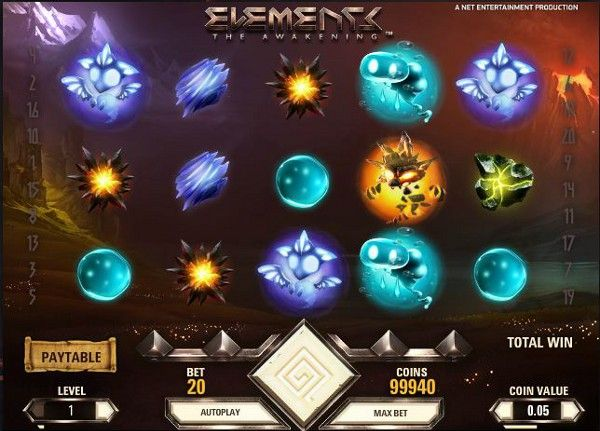 Elements Slotmachine Slot Slot Machines