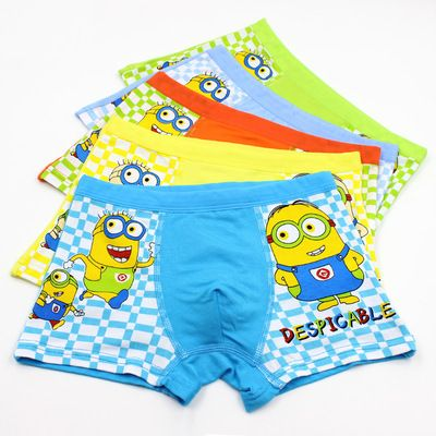 Despicable Me Toddler Boys Minions 7 Pack Underwear Briefs