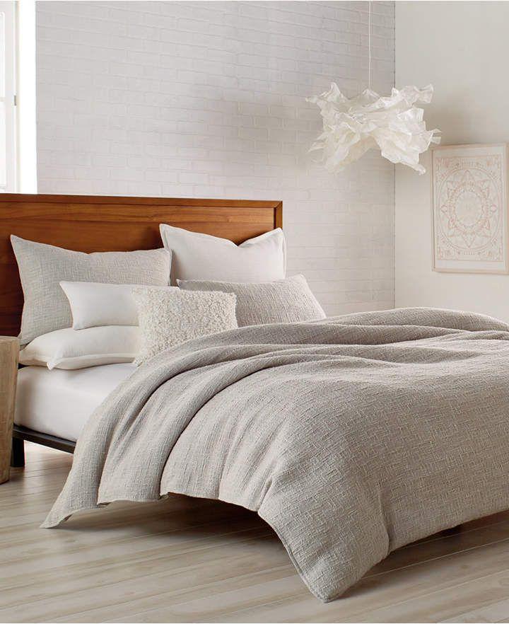 Dkny Pure Texture Queen Duvet Reviews Duvet Covers Sets Bed Bath Macy S In 2021 Textured Duvet Textured Duvet Cover Bedding Sets