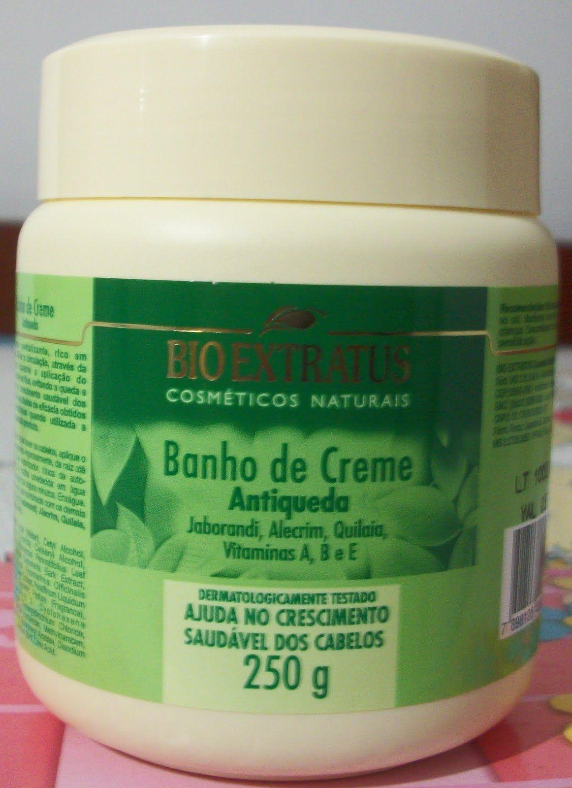 Hidratacao Bio Extratus Banho De Creme Antiqueda Com Imagens