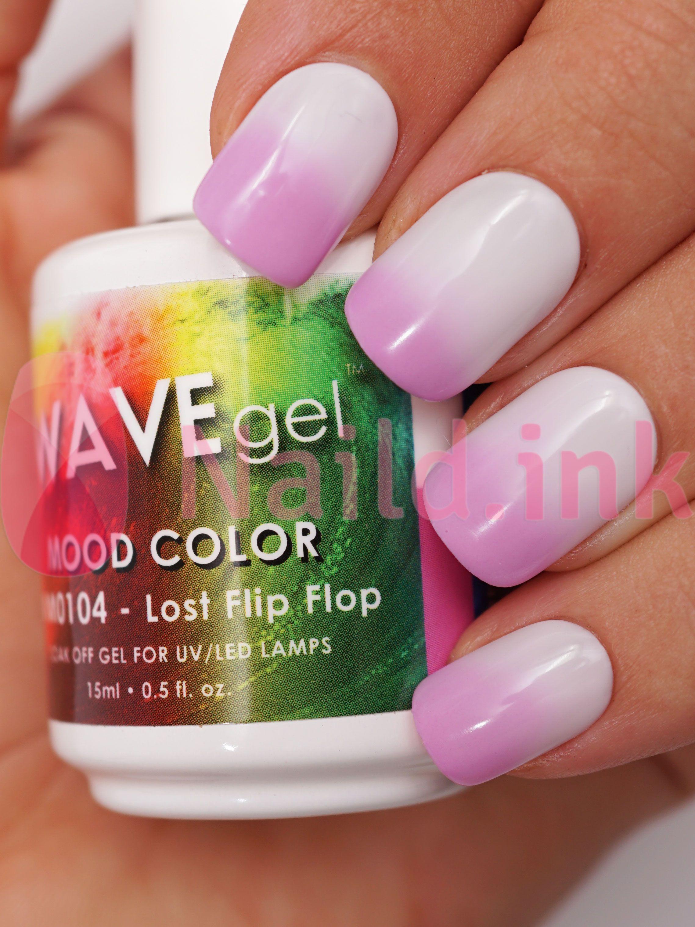 WAVEgel Mood Color Lost Flip Flop | Makeup and beauty | Pinterest
