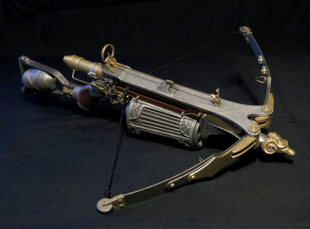 van helsing crossbow miniature by darthbiomech arsenal