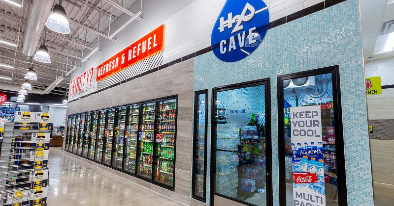 Inside Jiffy Trip S New 8 000 Square Foot Store Design In 2020 Store Design Square Feet Design