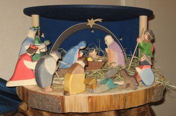 Twinckeltje, Open Dagen, kerststal