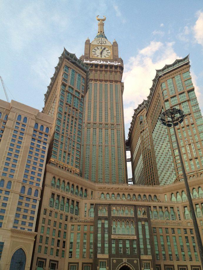 10 Tallest Buildings In The World Makkah Royal Clock Tower Hotel Makkah Itravelsite Skyscraper Modern Skyscrapers Building