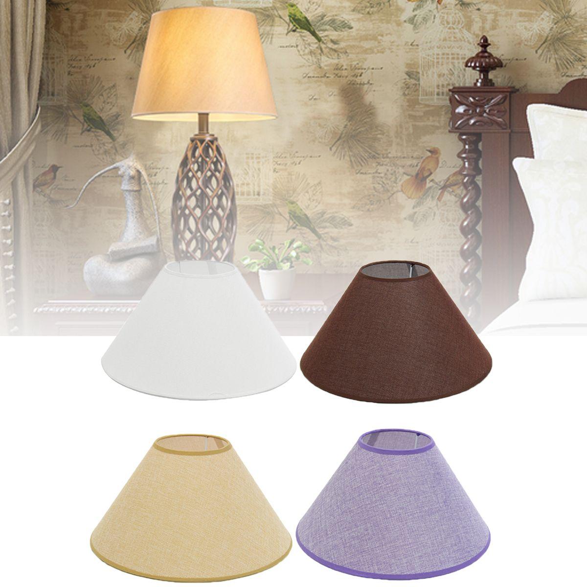 Us 11 09 13 36 18cm Ceiling Lamp Shade Cotton Textured Fabric Pvc Linen Room Table Lampshape Cm Ceilin Ceiling Lamp Shades Ceiling Lamp Light Accessories