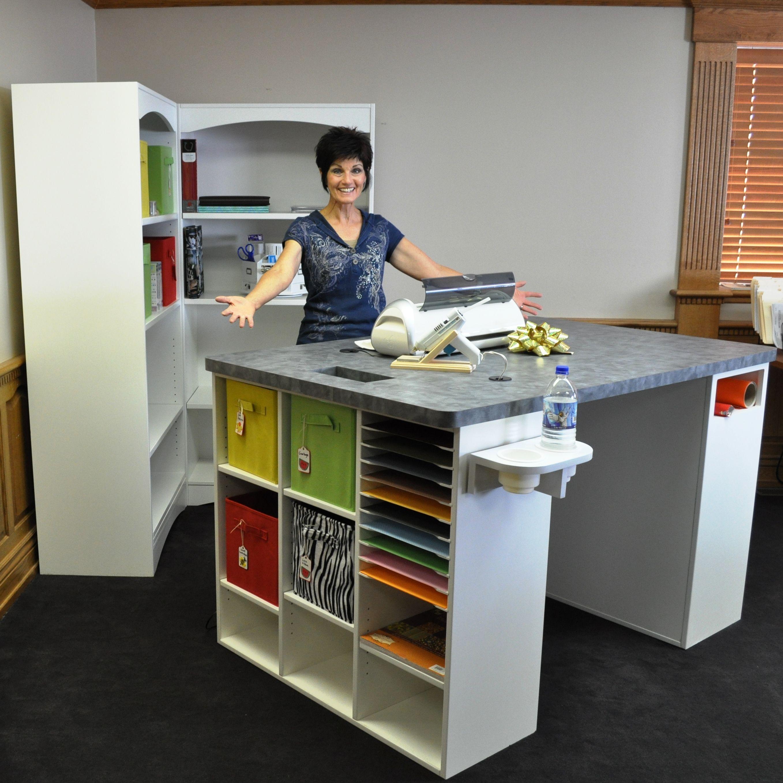 Hurcraft Table Hctlt 599 00 Hurcraft Quality Craft Furnishings Sewing Room Decor Craft Room Storage Sewing Room Storage