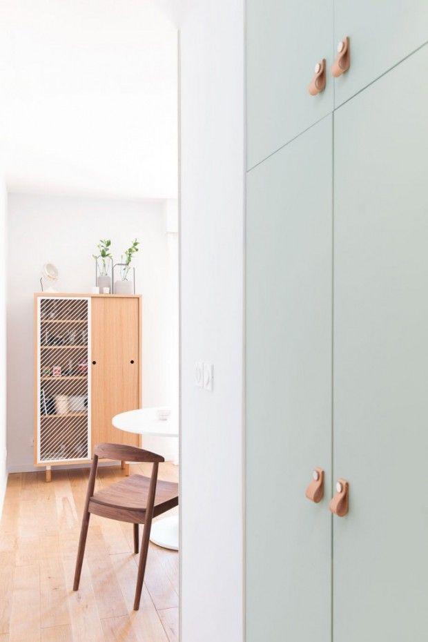 Rénovation d\u0027un appartement de 33 m2 à Lyon par l\u0027Atelier DITO