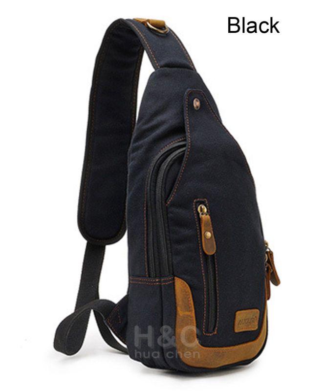 Women Men Single Shoulder Messenger Chest Bag Outdoor Travel Military Cross Body Bags Sling Rucksack Back Pack Sports & Entertainment Climbing Bags