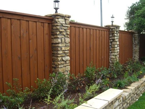 Visit the post for more. | Cedar wood fence, Fence styles ...