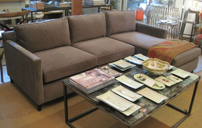 Martin Sectional In Plymouth Gray Mitchell Gold Bob Williams