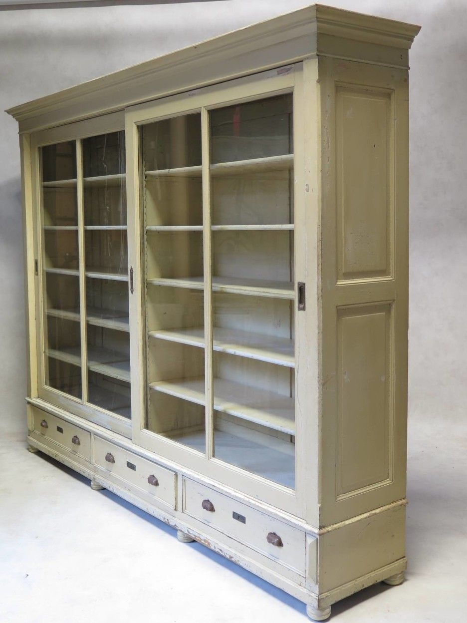 Bookshelves With Sliding Glass Doors Bookcase With Glass Doors