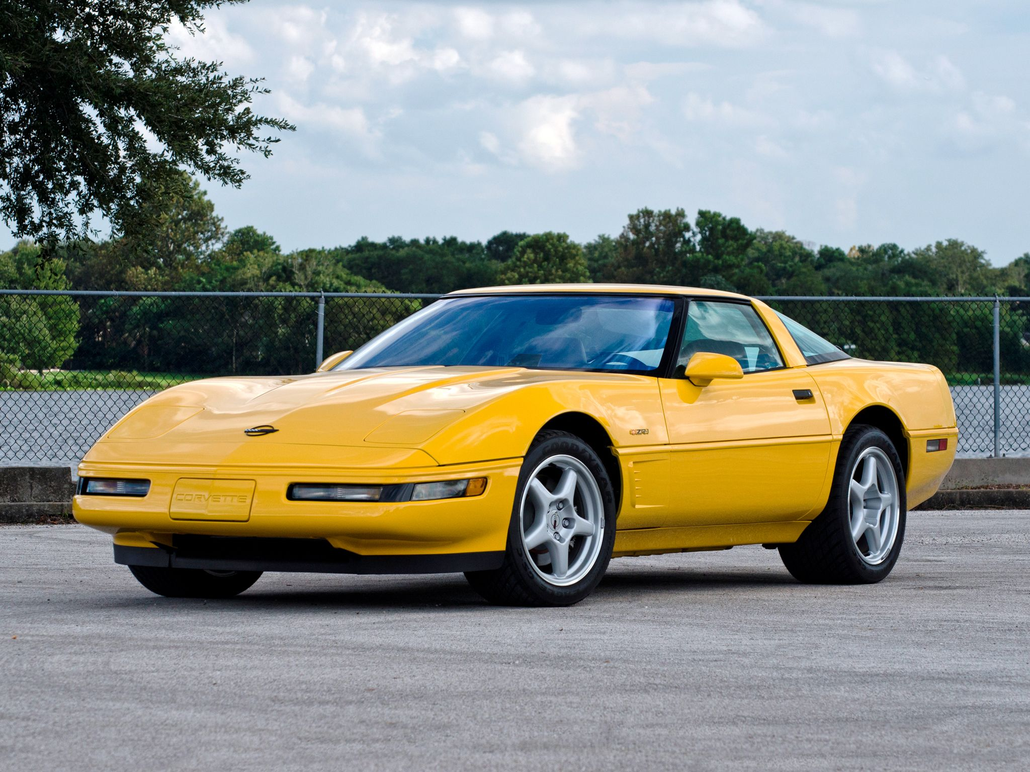 1991 95 Chevrolet C4 Corvette Zr1 Coupe Corvette Zr1 Chevrolet