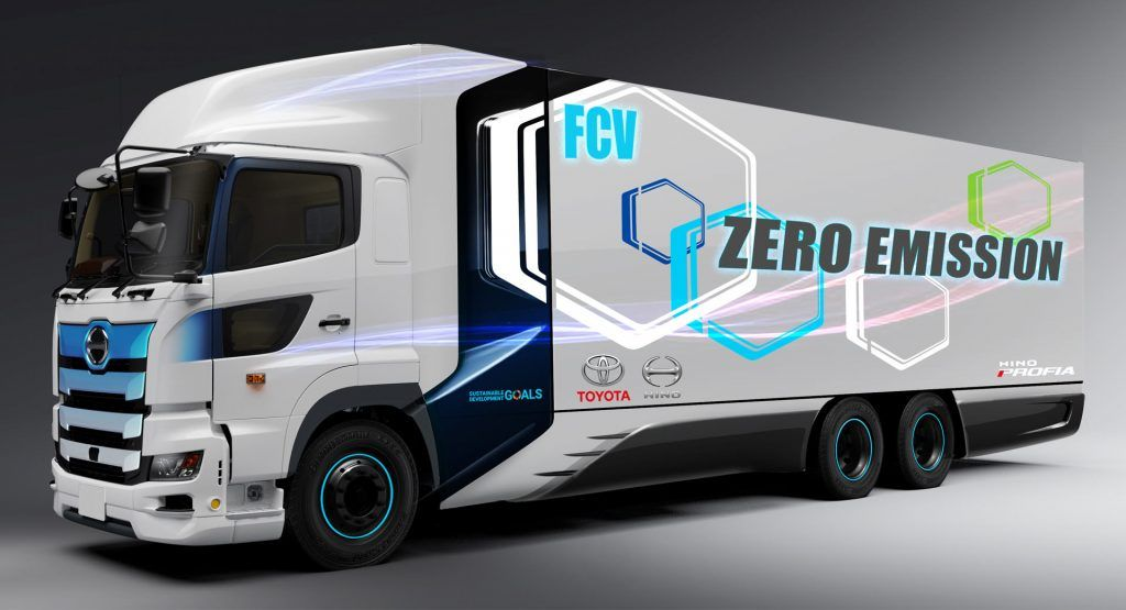 Toyota And Hino Annouce Fuel Cell Semi Partnership Will Use Tech