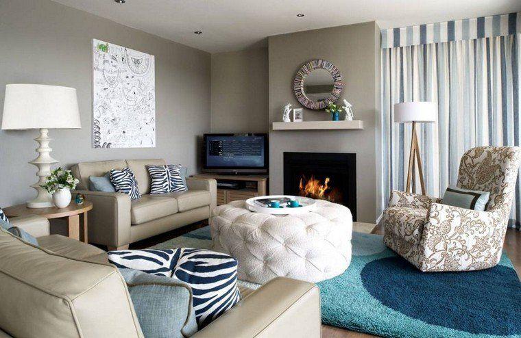 Salon couleur taupe, gris anthracite ou gris clair | Salle de séjour ...