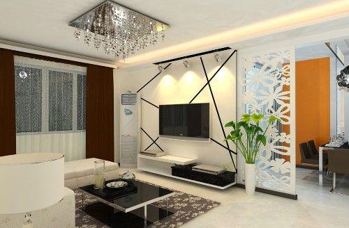 Contoh interior minimalis tanpa sekat permanen