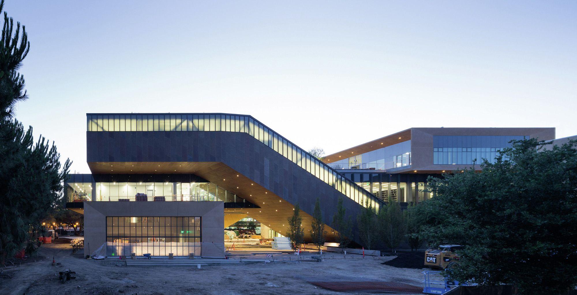 DS+R presenta fotografías del nuevo edificio de Historia del Arte de la Universidad de Stanford diller