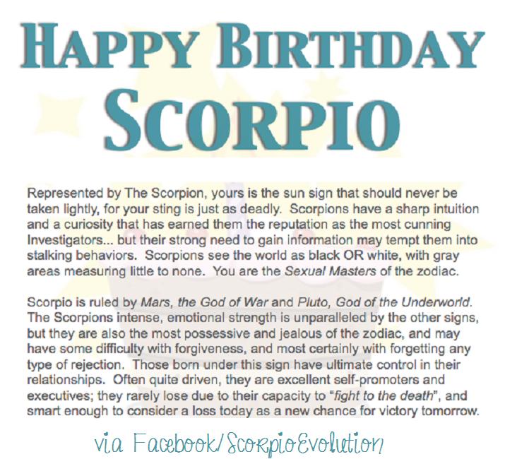 #ScorpioSeason #ScorpioBirthday #Scorpio #Zodiac # ...