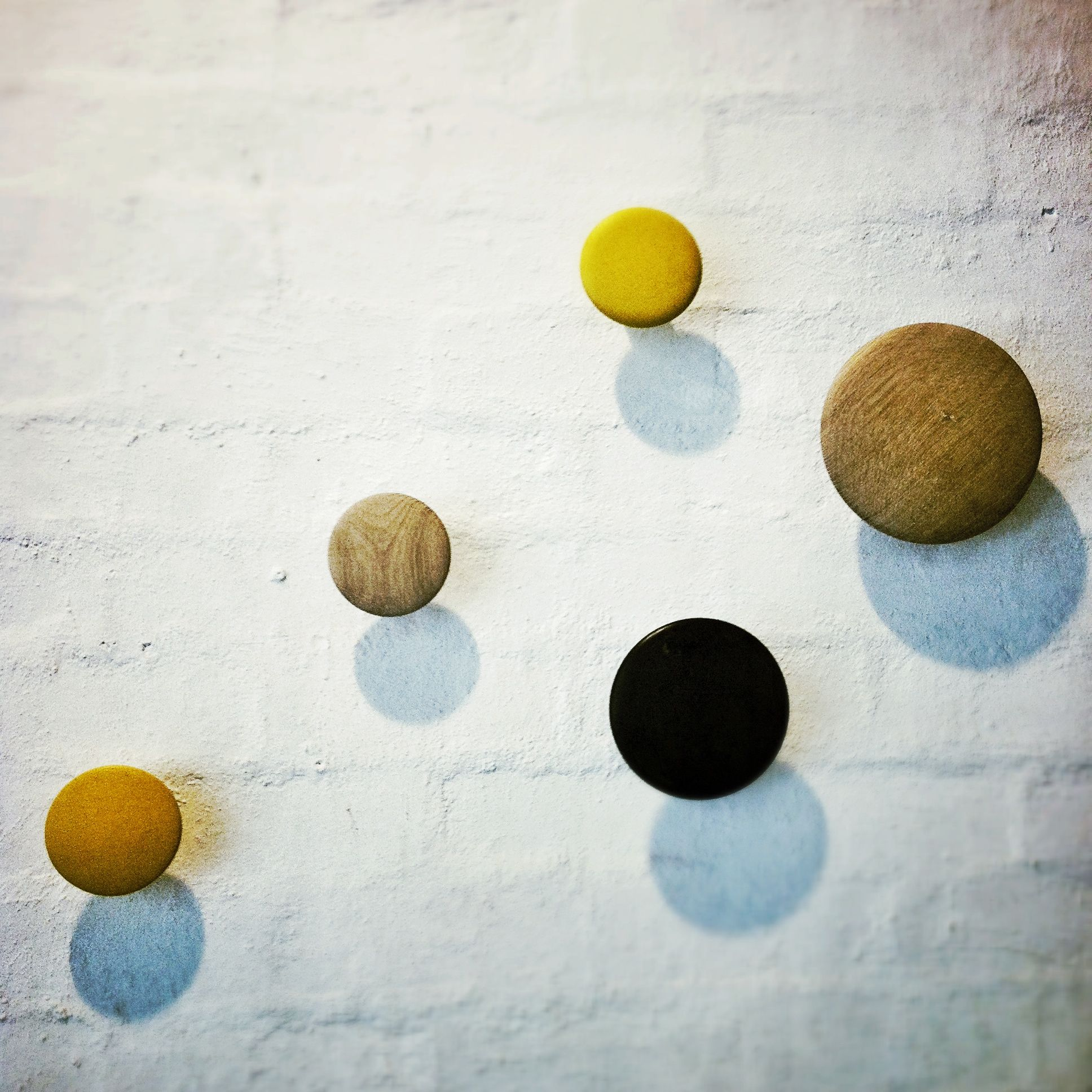 The ever lovely Muuto Dots.