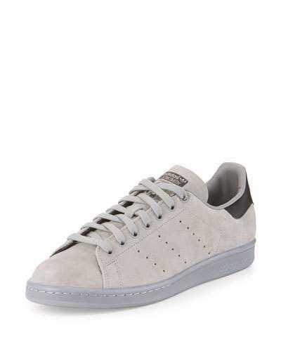 stan smith grey leather