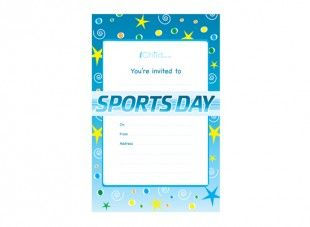 sports day poster template - print off these sports day invitation templates and make