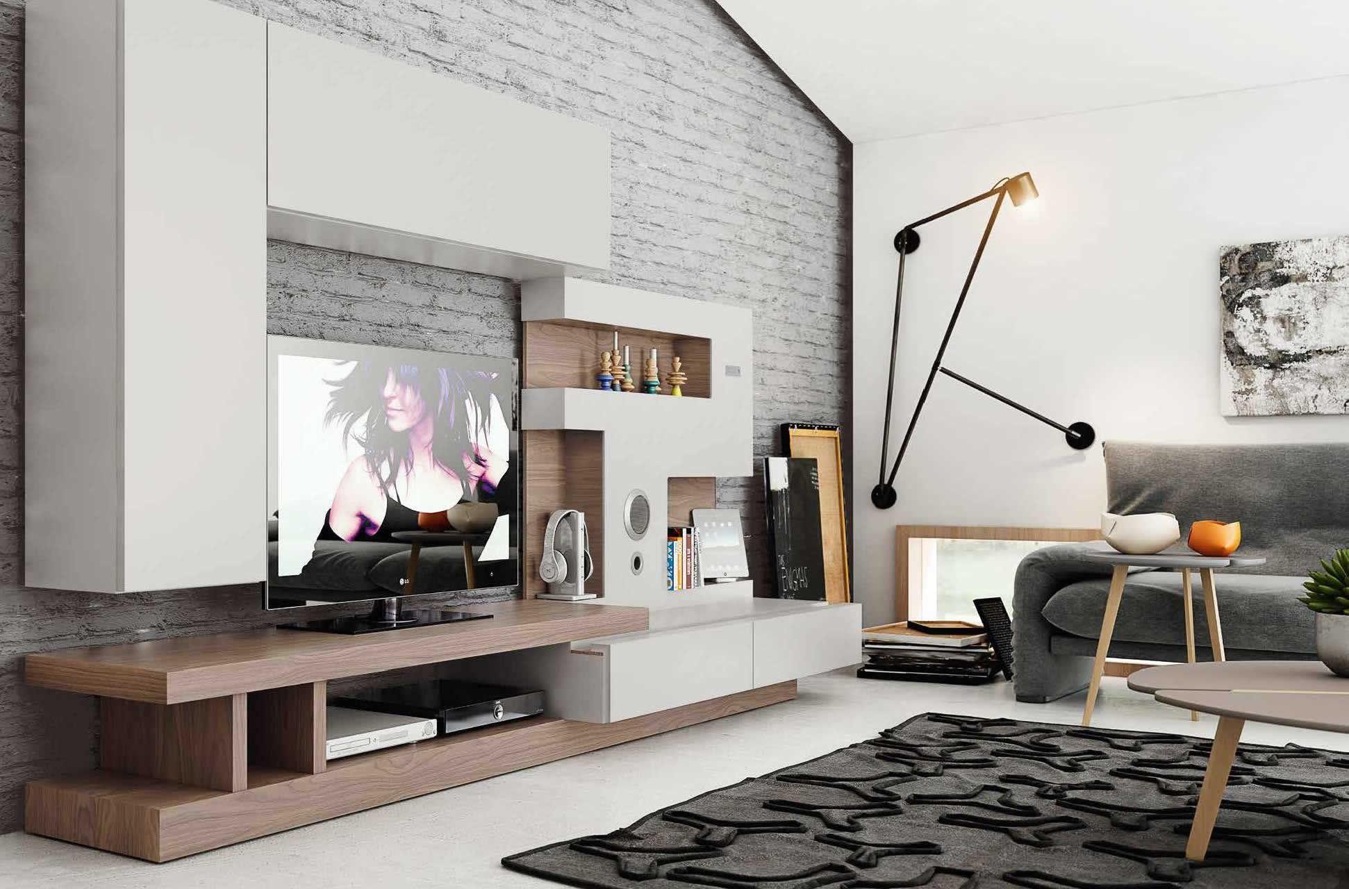 salon-moderno-natural-501.jpg (1942×1280) | tv unit | Pinterest